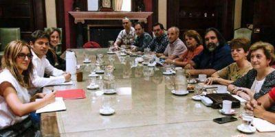 Después de cuatro años, los gremios docentes bonaerenses volvieron ingresar a la Gobernación
