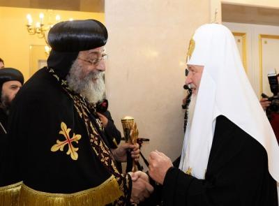 La Iglesia ortodoxa rusa ahora se separa de Alejandría por la causa de Ucrania