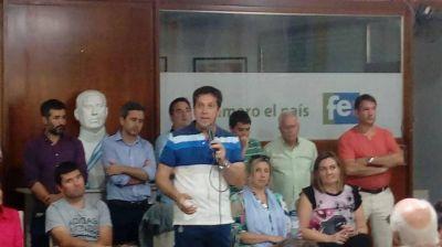 Rojas aseguró que si los municipales no levantan el paro llamará a una licitación para el mantenimiento de los espacios públicos