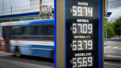 ¿A cuánto subirán los combustibles a partir de 1° de enero?