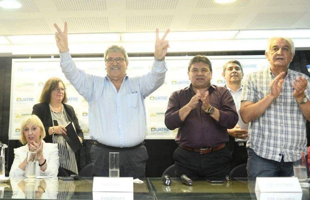Renovaron autoridades en UATRE: Ayala y Voytenco, la nueva dupla de conducción