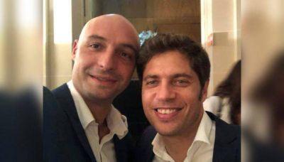 """""""Beto"""" Ramil inició su interinato con una reunión con Axel Kicillof en La Plata"""
