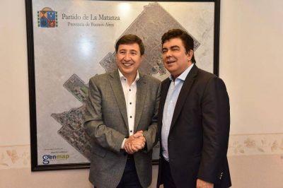 Fernando Espinoza y Daniel Arroyo delinearon medidas frente a la emergencia social y económica