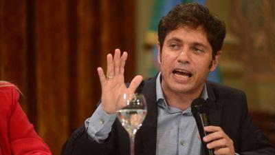 Kicillof acusó a la oposición de irresponsable y dijo que no aceptará