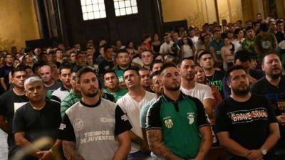 """El Surrbac organizó una misa """"por un 2020 sin presos políticos"""""""