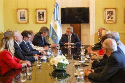 El presidente recibió en Casa Rosada a las iglesias evangélicas nucleadas en ACIERA
