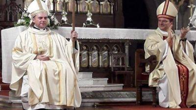Consagraron a monseñor Darío Quintana como obispo auxiliar de Mar del Plata