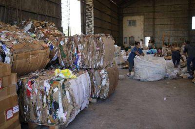 En Navidad se juntaron 6.000 kilos de materiales para reciclar