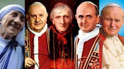 Estos son los nuevos santos y beatos que nos deja la década del 2010