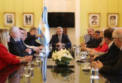 Los evangélicos se reunieron con Alberto Fernández por primera vez