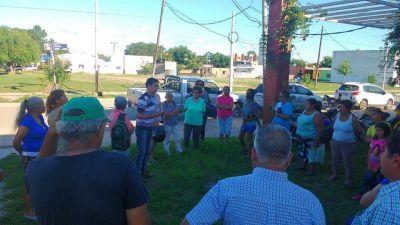 En el Ponce reclaman por la regularización del agua potable