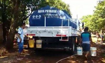 Calor insoportable y algunos barrios sin agua potable