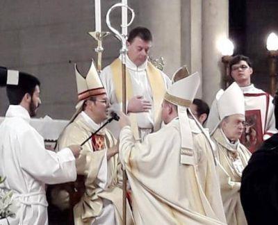 Monseñor Darío quintana fue consagrado Obispo Auxiliar de la Diócesis de Mar del Plata
