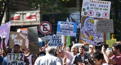 Legisladores mendocinos tratarán hoy la derogación de la polémica ley de minería