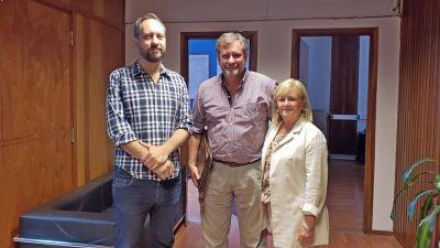 Intendente de Suipacha realizó gestiones en provincia