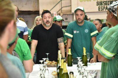 Merlo: Los trabajadores municipales se reunieron con Menéndez