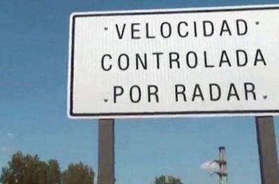 """""""Atención, radar vigía"""": ¿dónde están los dispositivos de la ruta 2?"""