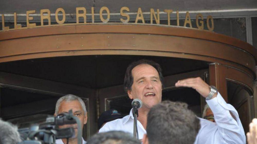 Kicillof eligió al socialista Ariel Basteiro para presidir el Astillero Río Santiago