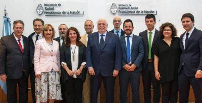 Asumió el Gabinete de Salud que acompañará Ginés González García