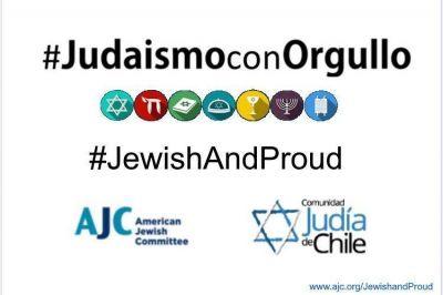 La comunidad judía de Chile se suma a la campaña contra el antisemitismo