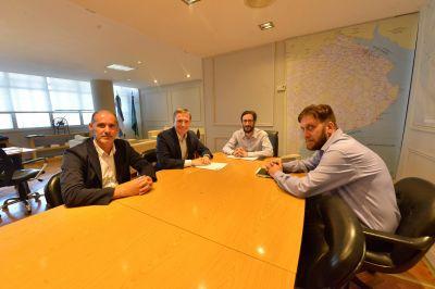 Fernando Gray se reunió con el Ministro de Infraestructura de la Provincia