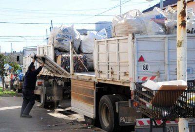 Los Recuperadores Urbanos recolectaron en el año más de 170 toneladas de material reciclable