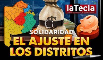 El ajuste en los distritos