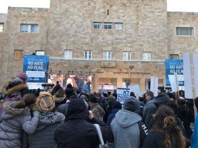 No odio, No Temor 25000 personas unidas contra el Antisemitismo