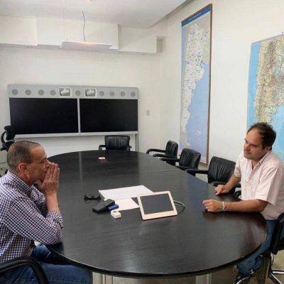 El intendente de Navarro compartió agenda con el Administrador de Vialidad Macional