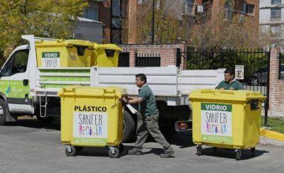 """""""Sanfer Recicla"""" recolectó 715 mil kilos en 2019"""