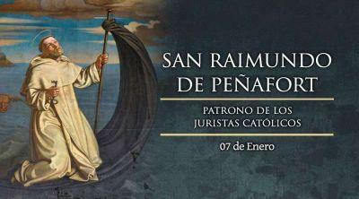 Hoy la Iglesia celebra a San Raimundo de Peñafort, patrono de los juristas católicos