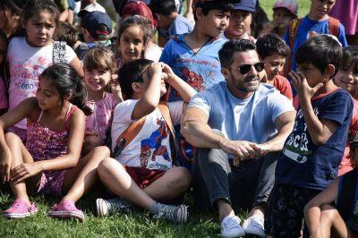 El intendente Echarren inauguró la escuela abierta de verano 2020