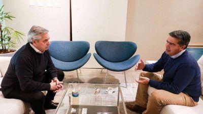 Primer viaje de gestión de Alberto Fernández: visita a Jorge Capitanich en Chaco