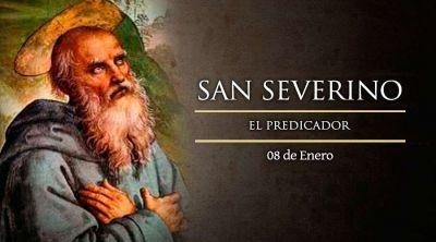 Hoy es la fiesta de San Severino, predicador que promovía la oración contra los vicios