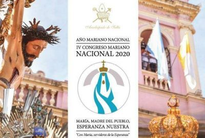 Mons. Cargnello pone al amparo de la Virgen del Milagro el Año Mariano