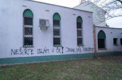 Vandalizan una mezquita en República Checa
