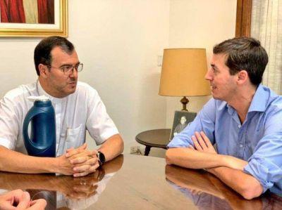 Bordaisco se reunió con el obispo Mestre