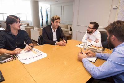 Boto se reunió con el Ministro Infraestructura de la Provincia