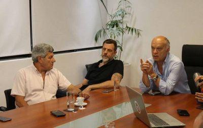 Grindetti recibió a De Gennaro y juntos trabajarán en la lucha contra el hambre en Lanús