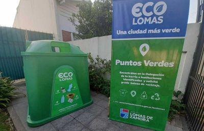Reciclado: La Chapanay se incorpora a la red de Puntos Verdes del Municipio