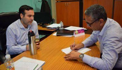 El secretario de Gobierno y la secretaria de Agua y Hábitat acordaron trabajo en equipo con el Defensor del Pueblo