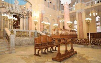 La antigua sinagoga de Alejandría, en Egipto, este viernes reabre sus puertas