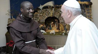 El Papa recibió al fraile que fue mejor maestro del mundo en 2019