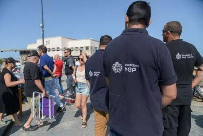 """""""Ley seca""""….Al igual que Arroyo, Guillermo Montenegro salió a controlar el alcohol en Playa Grande"""