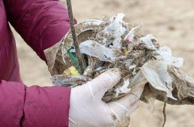 El 83% de los residuos encontrados en las playas son plásticos