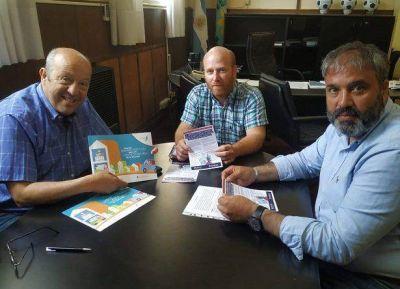 Paredi recibió al presidente de Proagas, distribuidora del servicio en Santa Clara