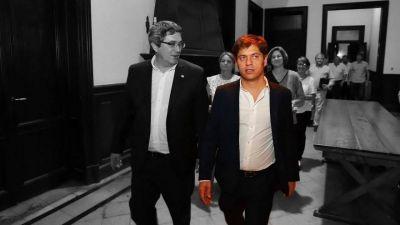 La noche en que Axel se convirtió en Daniel Scioli