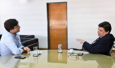 Ghi y Moroni dialogaron sobre una agenda de trabajo