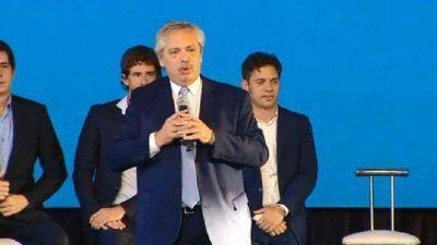 Alberto Fernández destacó que el plan