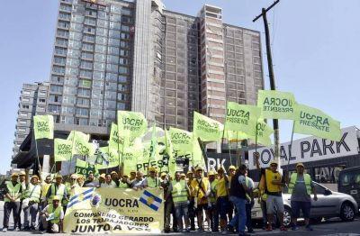 La UOCRA Mar del Plata salió a las calles concientizando sobre la seguridad en las obras en construcción